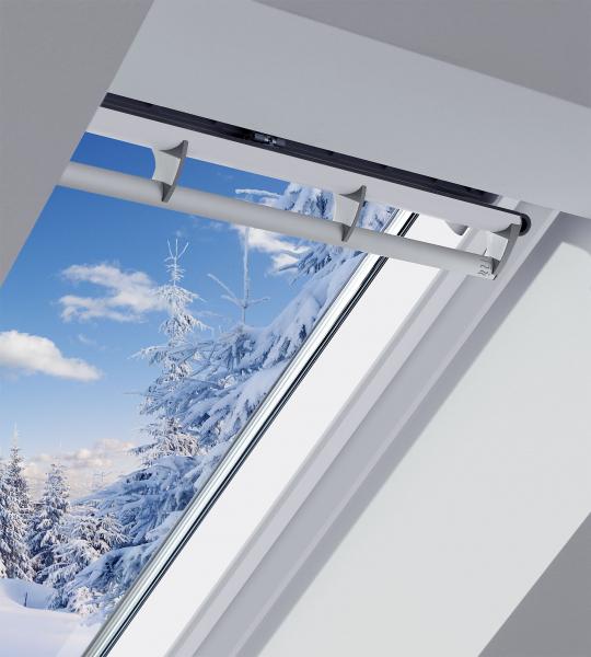 Propracované systémy střešních oken VELUX včetně zateplení a†ostění při správně provedené montáži zajistí, že sádrokartony v†podkroví zůstanou bílé jako sníh