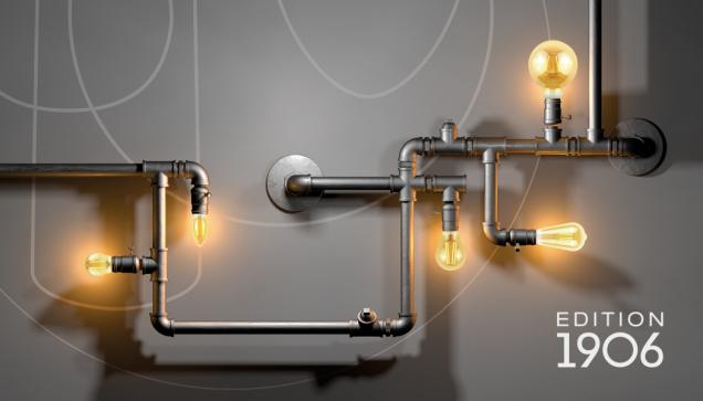 Retro estetika v kombinaci s moderní LED technologií. Takto stručně by se dala popsat kategorie svítidel a světelných zdrojů značky LEDVANCE navržená jako hold Thomasi Alvovi Edisonovi a jeho vynálezu žhaveného zdroje. Edice Vintage 1906 se může pochlubit klasickým vzhledem, který znovu staví do popředí nejkrásnější designový prvek – samotné světlo. (Zdroj: LEDVANCE)