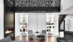 Architekt René Desjardins zaujal manželský pár natolik, že mu svěřili celý projekt nového domova.