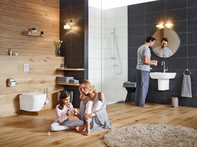 Kuchyňské i koupelnové baterie Grohe Eurosmart díky své konstrukci zaručují plynulou regulaci tekoucí vody a díky technologii EcoJoy sníží průtok na 5,7 litru za minutu (GROHE)
