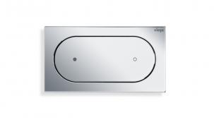 Základní ovládací deska pro vzdálené splachování Viega Visign for Style 23 v pochromovaném plastu (Zdroj: Viega)