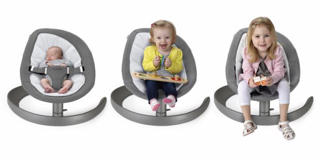 NUNA LEAF grow s rostoucími dětmi (zdroj: Babypoint)