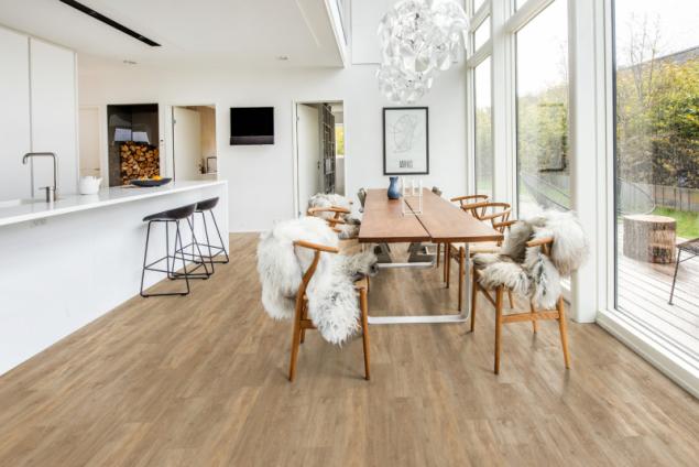 Kährs minerální podlahy SPC - kolekce Wood Design, dekor Taiga (zdroj: KPP)