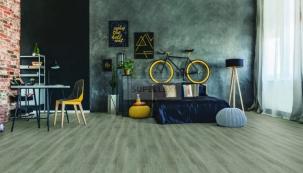 Vinylová podlaha Amorim Premier REAL - dekor dub tmavě šedý (zdroj: svetpodlah.cz)