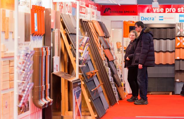 Letos se koná již22. ročník největšího veletrhu pro stavbu a renovace střech vČR a střední Evropě. (Zdroj: Střechy Praha)