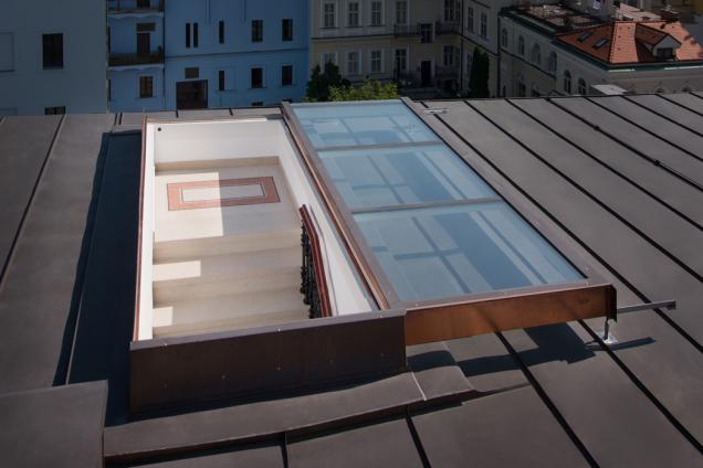 Ploché střechy a použití posuvných oken Solara PERSPEKTIV (Zdroj: Solara)