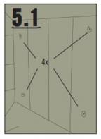Obr. 5.1: Předvrtejte strany beden, a to vždy na čtyřech místech (Zdroj: Hornbach)
