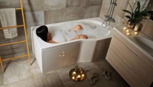 Ať už zařizujete malou nebo velkou koupelnu, její bezproblémové každodenní fungování zajistí praktická dispozice vycházející z využití koupelny (JIKA)