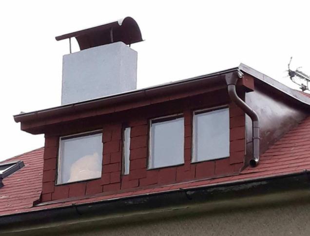 Detail střechy (Zdroj: Poptavej.cz)