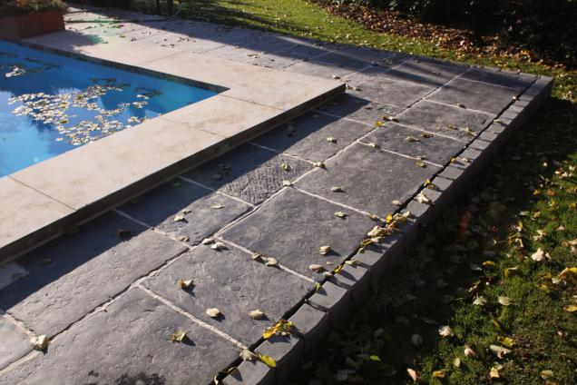 Dlažba RIGA připomíná starou kamennou dlažbu (Zdroj: Presbeton)