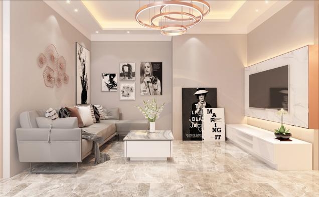Vysoký strop v místnosti účelně snížíme sádrokartonovým podhledem se zabudovaným osvětlením (Zdroj: ISOVER)