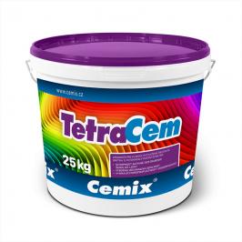 Tenkovrstvá omítka Cemix TetraCem v balení po 25 kg (Zdroj: Cemix)