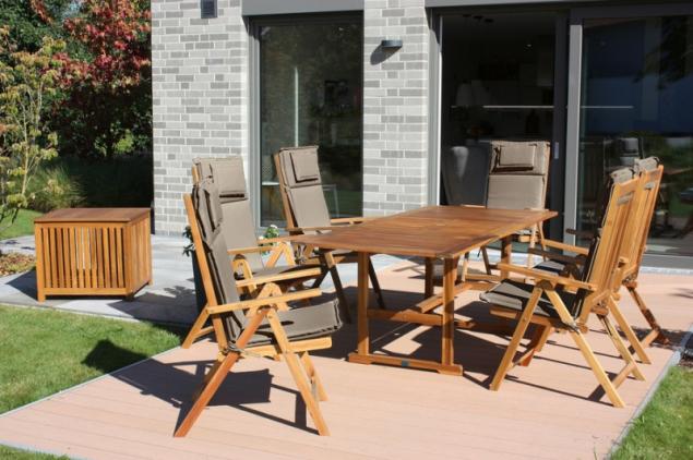 Dřevěná zahradní sestava Autumn