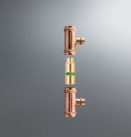 Společnost Viega nabízí řadu komponent (cirkulační ventily Easytop, tlakové trysky, dvojité nástěnky nebo ventily pro odběry vzorků pitné vody), které pomáhají zajistit pravidelné proudění vody v rozvodech a udržují tak vysokou kvalitu pitné vody. (foto: Viega)