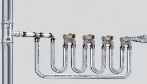 Nerezové potrubní systémy Viega Sanpress Inox jako ideální varianta pro rozvody vnitřních vodovodů. (foto: Viega)