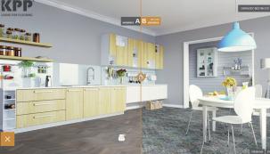 Zpohodlí křesla či pohovky si dnes můžete vybrat podlahovou krytinu díky nové aplikaci www.kpponline.cz. (Zdroj: KPP)