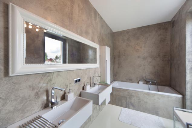Designová stěrka Betonepox® reálně imituje betonovou plochu
