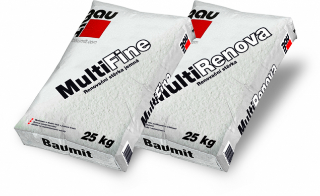 Produktová řada Baumit Multi (zdroj: Baumit)