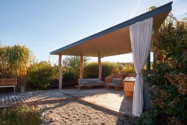 PM architekti: Zahradní altán