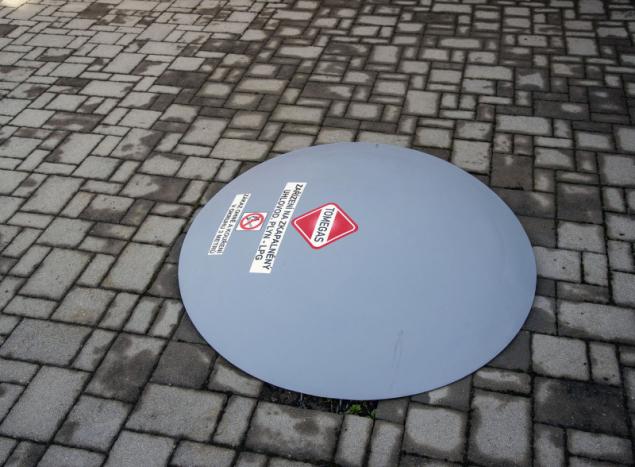 Zásobník lze zabudovat i pod zem (zdroj: TOMEGAS)
