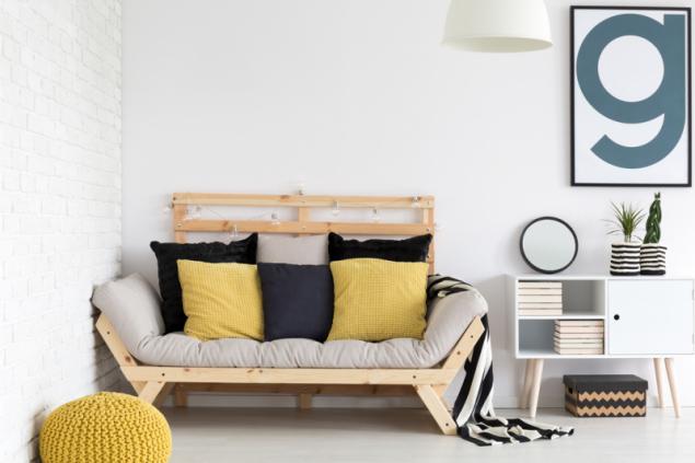 Rozkládací pohovky dnes už mohou být pohodlné i na každodenní spaní (zdroj: Bonami)