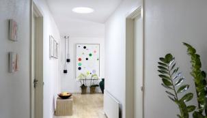 Světlovody přivedou denní světlo i do místností bez oken (zdroj: VELUX)
