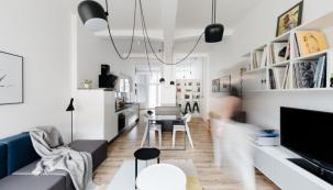 Malý loft ve velkém stylu (foto: Tomáš Hejzlar)