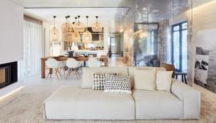Interiéry rodinného domu vPrůhonicích, ATELIER KUNC architects
