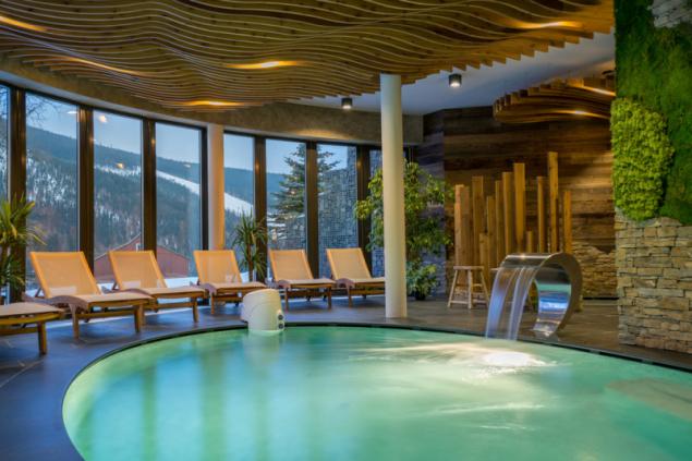 Vyhrajte víkendový wellness pobyt ve Špindlerově Mlýně nebo značkové designové župany v soutěži Viega – koupelna roku (foto: hotel Olympie)