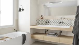 Zrekonstruovali jste nebo právě rekonstruujete koupelnu? Pokud bude brzy dokončena, neváhejte ji obratem přihlásit do soutěže Viega – koupelna roku (foto: Viega)