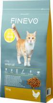 Granule pro kočky FINEVO Senior (zdroj: Hornbach)