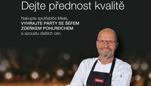 Pořiďte si nový domácí spotřebič značky Miele a vyhrajte párty se Zdeňkem Pohlreichem