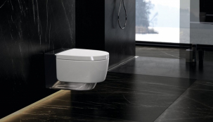 Kzakoupené a zaregistrované kompletní toaletě Geberit AquaClean nyní získáte sprchovací WC sedátko zcela zdarma