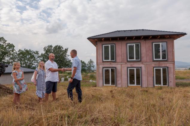 Předání domu k dokončení
