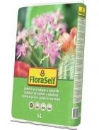 FloraSelf Substrát pro kaktusy a sukulenty (zdroj: Hornbach)