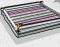 Vyberte si vhodné místo prozahradnídomek. Nejprve připravte solidní základy pro zajištění stability domku. Velmi dobře se hodí dlažební desky nebo podezdívka. Poté uložte na základový pás podlahové trámy. Podklad musí být absolutně rovný a kolmý. K podlahovým trámům přišroubujte soklové fošny