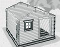 """Skládáním prken na sebe postavte stěny. """"Při stavbě kontrolujte vodováhou kolmé uložení fošen. Na stanovených místech osaďte okna. Abyste zabránili prasknutí fošny, vyvrtejte všechny otvory pro šroubová spojení předem"""