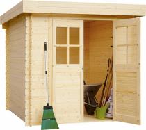 Dřevěný zahradní domek BPP Tina (zdroj: Hornbach)