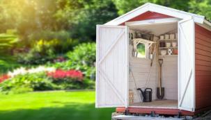 Zahradnídomek je ideální pro uskladnění kola,zahradníhonábytku, sekačky a nářadí před nepříznivým počasím (zdroj: iStock)
