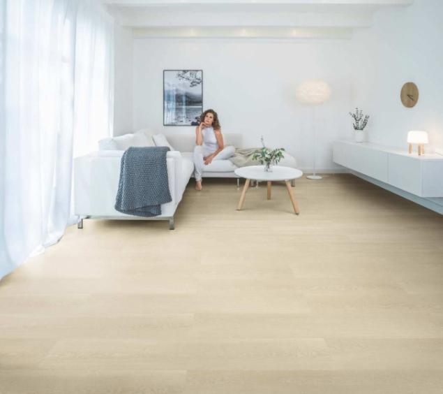 Vinylová podlaha WINEO 400 wood, dekor Inspiration Oak Clear (zdroj: KPP)