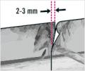5. krok: Jednotlivé části fototapet lepte tak, aby se překrývaly shora, jako střešní tašky. Spoje pak nepůjdou vidět