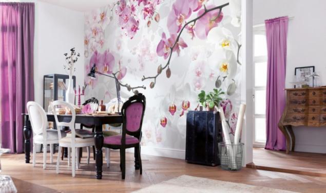 Fototapeta orchideje (zdroj: Hornbach)
