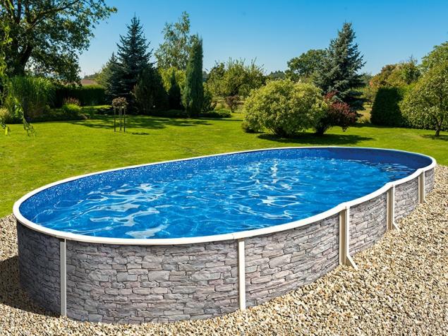 Nadzemní bazén Azuro (zdroj: Mountfield)