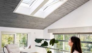 Systém VELUX ACTIVE with NETATMO ovládá okna a udržuje díky senzorům zdravé klima v interiéru (VELUX)
