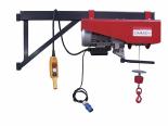 Stavební vrátek do 300 kg je určený k vynášení předmětů do výšek. Snadná instalace na lešení s možností částečného otáčení, půjčovné 471,90 Kč na den (DEK)