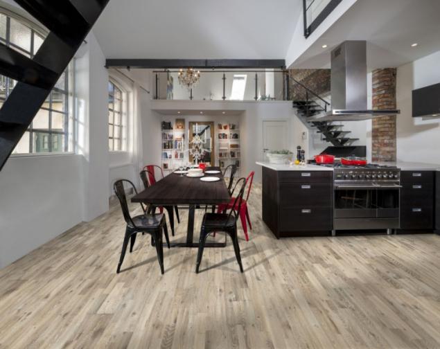 Dřevěná podlaha Kährs, kolekce Götaland, olej, dekor Dub Kilesand (zdroj: KPP)