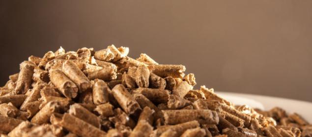 Pelety jsou stlačené dřevěné piliny, které se slisováním zahřejí a spojí do malých válečků (zdroj: Adobe Stock)