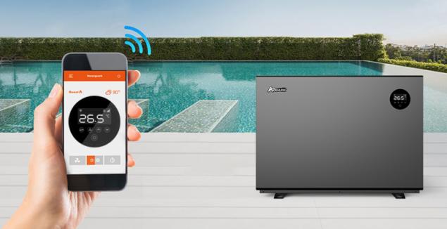 Bazénové čerpadlo Mr. Silence lze pohodlně ovládat i na dálku chytrým telefonem
