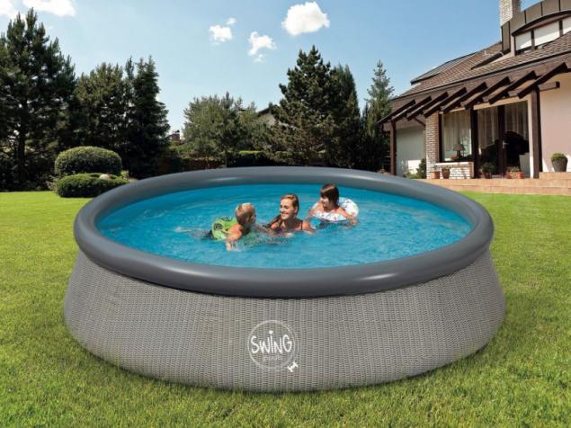 Nafukovací bazén Swing Splash Ratan (zdroj: Mountfield)