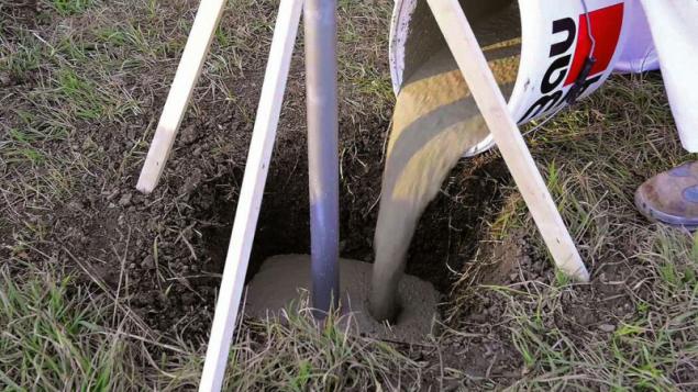 Baumit FixBeton – betonáž základové patky